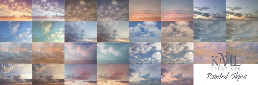 kml creatives, sky overlays, cloud overlay